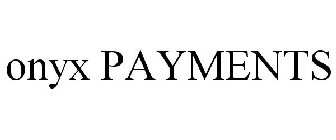 ONYX PAYMENTS Trademark of Pegasus Business Intelligence