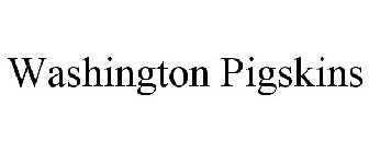 WASHINGTON PIGSKINS
