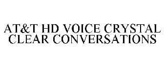 AT&T HD VOICE CRYSTAL CLEAR CONVERSATION