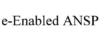 E-ENABLED ANSP Trademark of Air Informatics LLC