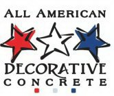 ALL AMERICAN DECORATIVE CONCRETE