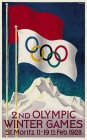 2ND OLYMPIC WINTER GAMES ST. MORITZ 11-19TH FEB.1928