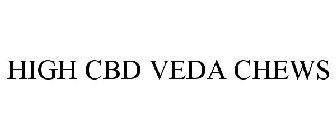 HIGH CBD VEDA CHEWS Trademark of Avedica Nutraceuticals, Inc