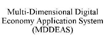 Multi Dimensional Digital Economy Application System