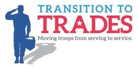 TRANSITION TO TRADES MOVING TROOPS FROM SERVING TO SERVICE.