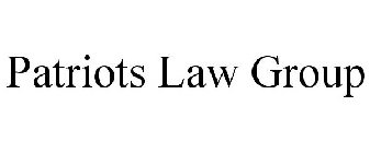 PATRIOTS LAW GROUP