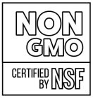 NON GMO CERTIFIED BY NSF