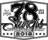 EST. 1938 78TH STURGIS MOTORCYCLE RALLY 2018