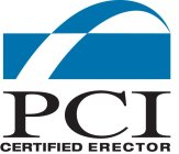 PCI CERTIFIED ERECTOR
