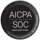 AICPA SOC AICPA.ORG/SOC4SO SOC FOR SERVICE ORGANIZATIONS SERVICE ORGANIZATIONS