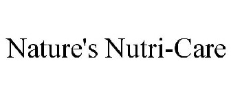 NATURE'S NUTRI-CARE