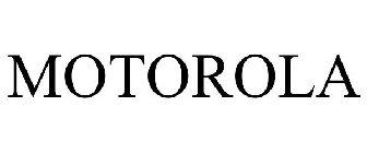 MOTOROLA Trademark Application of Motorola Trademark Holdings, LLC