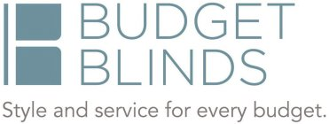 BUDGET BLINDS STYLE AND SERVICE FOR EVERY BUDGET