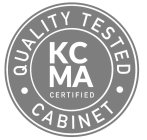 KCMA CERTIFIED QUALITY TESTED CABINET