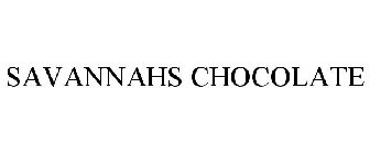 SAVANNAHS CHOCOLATE