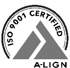 ISO 9001 CERTIFIED A-LIGN
