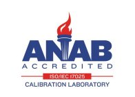 ANAB ACCREDITED ISO/IEC 17025 CALIBRATION LABORATORY