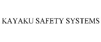 KAYAKU SAFETY SYSTEMS