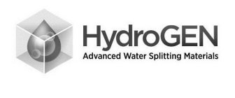 HYDROGEN ADVANCED WATER SPLITTING MATERIALS