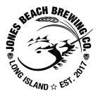 Horseshoe crab with Wheat as a representative of Jones Beach Brewing Co.