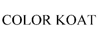 COLOR KOAT