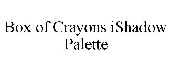 BOX OF CRAYONS ISHADOW PALETTE
