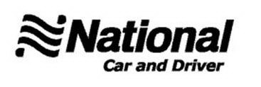 NATIONAL CAR AND DRIVER