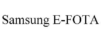Samsung E Fota Trademark Of Samsung Electronics Co Ltd