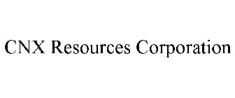 CNX RESOURCES CORPORATION