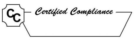 CC CERTIFIED COMPLIANCE