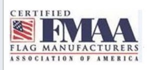 CERTIFIED FMAA FLAG MANUFACTURERS ASSOCIATION OF AMERICA