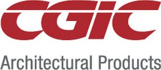 CGIC ARCHITECTURAL PRODUCTS