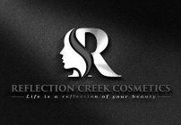 R REFLECTION CREEK COSMETICS LIFE IS A REFLECTION OF YOUR BEAUTY