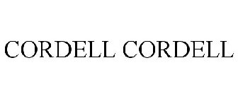 CORDELL CORDELL