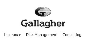 G GALLAGHER INSURANCE RISK MANAGEMENT CONSULTING