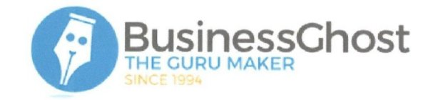 BUSINESS GHOST THE GURU MAKER SINCE 1994