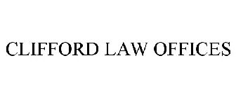 CLIFFORD LAW OFFICES