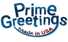 PRIME GREETINGS MADE IN USA