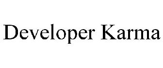 Developer Karma