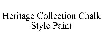 HERITAGE COLLECTION CHALK STYLE PAINT