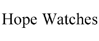Hope Watches