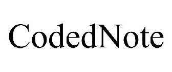 CODEDNOTE Trademark of International Council for Quality