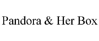 Pandora & Her Box