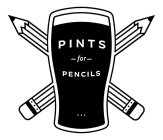PINTS FOR PENCILS