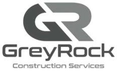 letters G and R, words GreyRock Construction Services