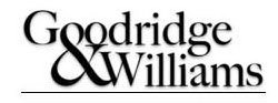 GOODRIDGE & WILLIAMS