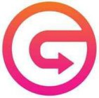 THE MARK CONSISTS OF A CIRCLE AND BENDING ARROW FORMED TO REPRESENT THE LETTER G