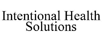 Intentional Health Solutions