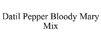 Datil Pepper Bloody Mary Mix