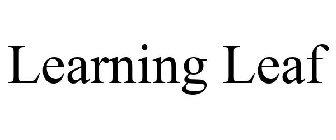 Learning Leaf